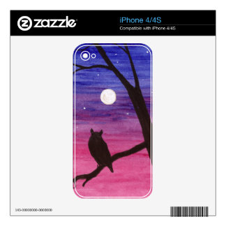 Great Horned Owl iPhone 4 Decal