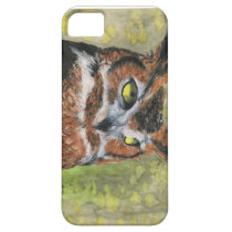 Great Horned Owl iPhone SE/5/5s Case