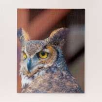 Great Horned Owl. Jigsaw Puzzle