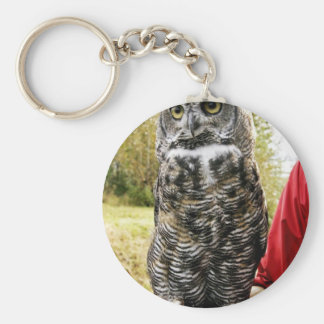 Great Horned Owl Key Chains