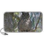 Great Horned Owl Laptop Speakers
