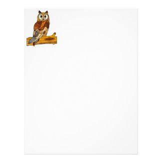 Great Horned Owl Letterhead
