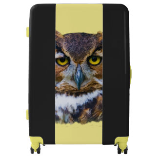Great Horned Owl Luggage