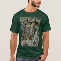 Great Horned Owl Mens Tshirt