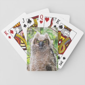 Great Horned Owl Deck Of Cards