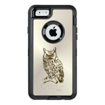 Great Horned Owl OtterBox Defender iPhone Case