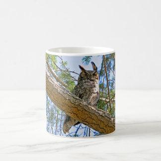 Great Horned Owl Photo Mug