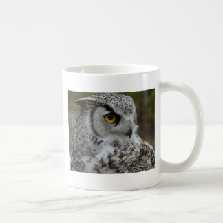 Great Horned Owl Photograph Classic White Coffee Mug