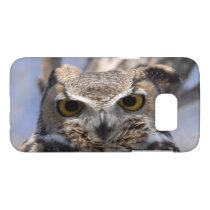 Great Horned Owl Photograph Samsung Galaxy S7 Case