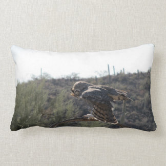 Great Horned Owl Pillow