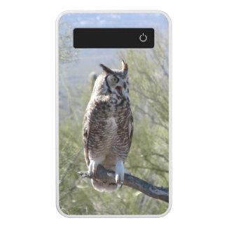 Great Horned Owl Power Bank