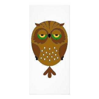 Great Horned Owl Rack Card