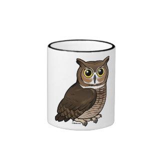 Great Horned Owl Ringer Mug