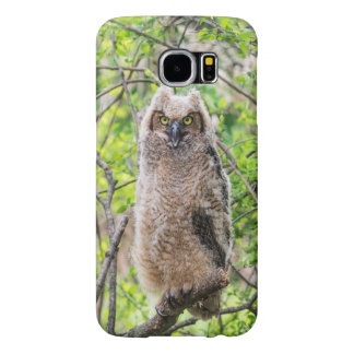 Great Horned Owl Samsung Galaxy S6 Case