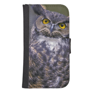 Great Horned Owl Samsung S4 Wallet Case