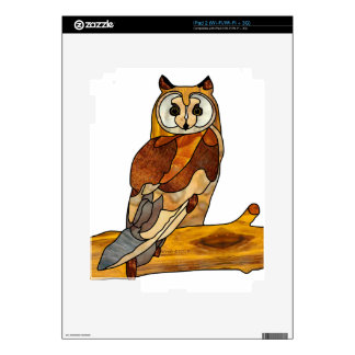 Great Horned Owl Skin For iPad 2