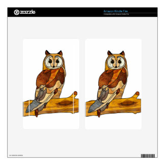 Great Horned Owl Skins For Kindle Fire