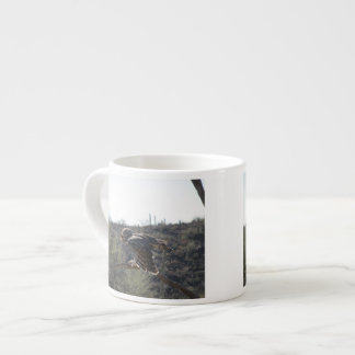 Great Horned Owl Espresso Cups