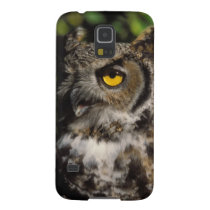 great horned owl, Stix varia, in the Anchorage Galaxy S5 Case