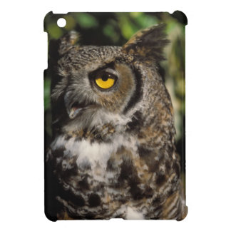 great horned owl, Stix varia, in the Anchorage iPad Mini Cases