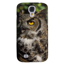 great horned owl, Stix varia, in the Anchorage Samsung S4 Case