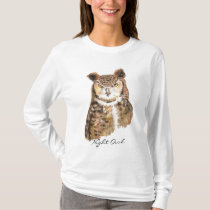 Great Horned Owl T Shirt