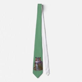 Great Horned Owl Tie