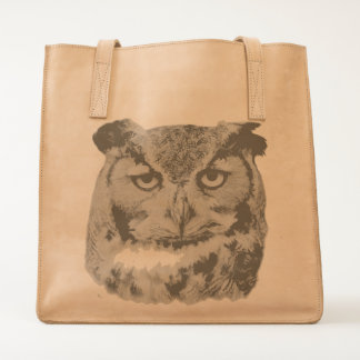 Great Horned Owl Tote