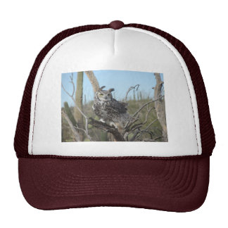 Great Horned Owl Trucker Hat