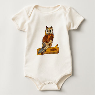 Great Horned Owl Baby Creeper