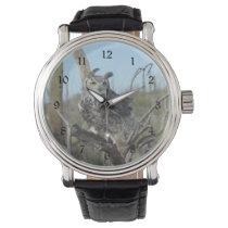 Great Horned Owl Wristwatch