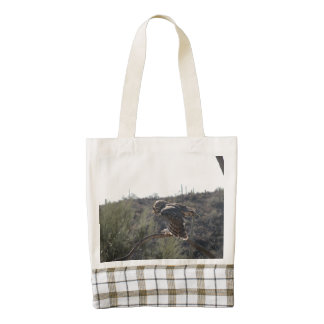 Great Horned Owl Zazzle HEART Tote Bag