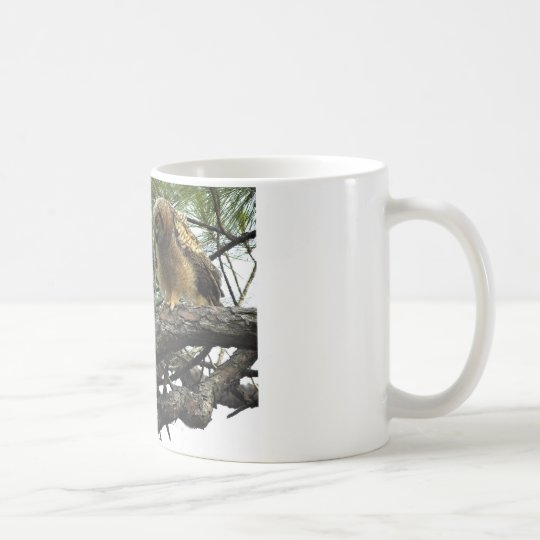 Great Horned Owls Coffee Mug