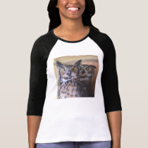 Great Horned Owls T-Shirt