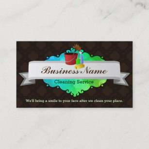 great house cleaning business cards - Best Place To Buy Business Cards
