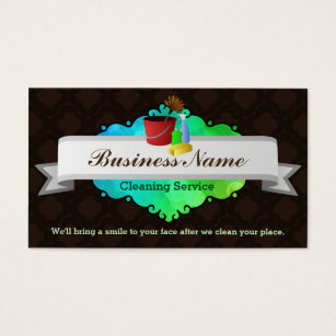 House cleaning business cards templates zazzle great house cleaning business cards wajeb Choice Image