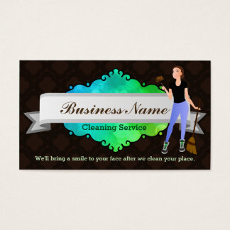 Great House cleaning business cards
