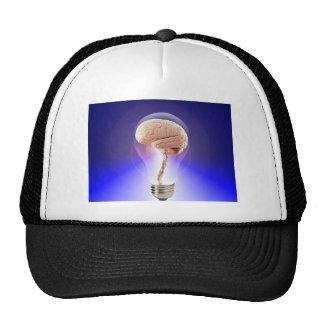 Great Idea Brain Bulb Trucker Hat