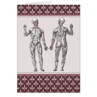 Great Ideas Originate in the Muscles Edison Quote Greeting Card