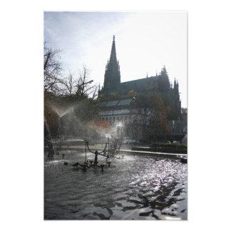 Great Illuminator Tinguely fountain, Basel Photo Print