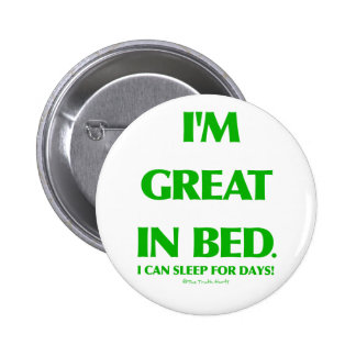 Great In Bed 2 Inch Round Button