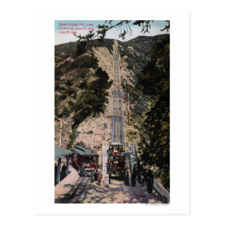 Great Incline Railway View Postcard