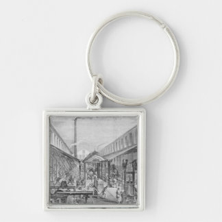 Great industries, workshops of construction key chain