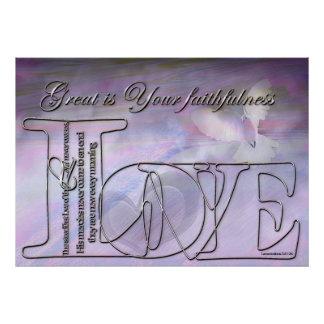 Great is Your faithfulness Posters