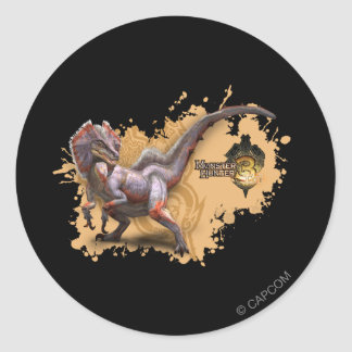 Great Jaggi Classic Round Sticker