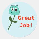 [ Thumbnail: Great Job! Round Sticker ]