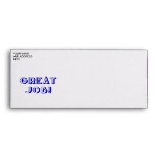 Great Job! Envelope