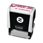 "[ Thumbnail: ""Great Job!"" Feedback Rubber Stamp ]"