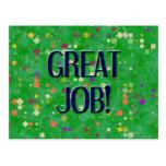 GREAT JOB POST CARD