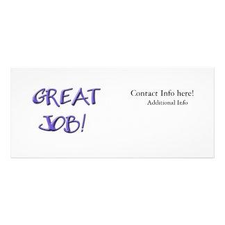 Great Job Rack Card Template